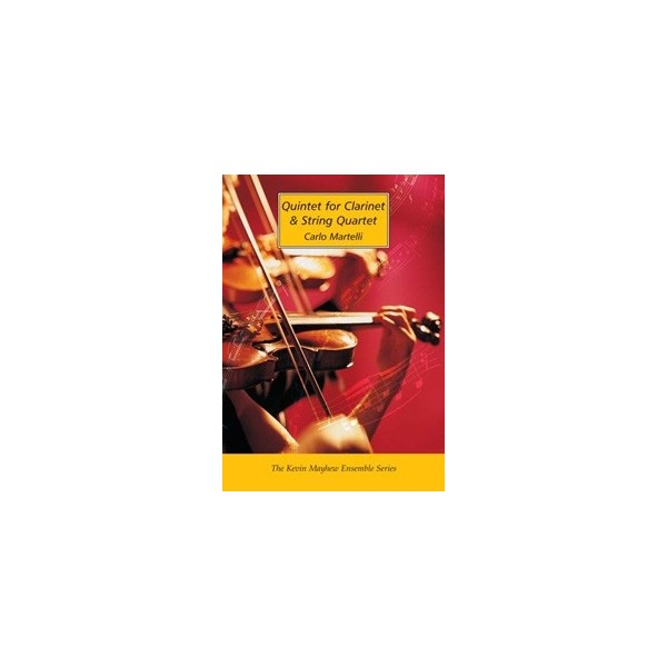 Quintet for Clarinet and String Quartet (Score)