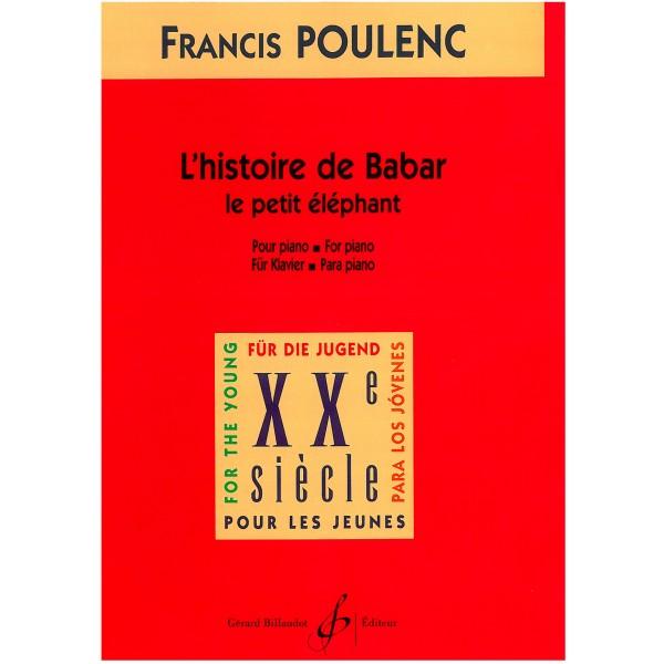 Poulenc, Francis - Le petit éléphant (pour piano)