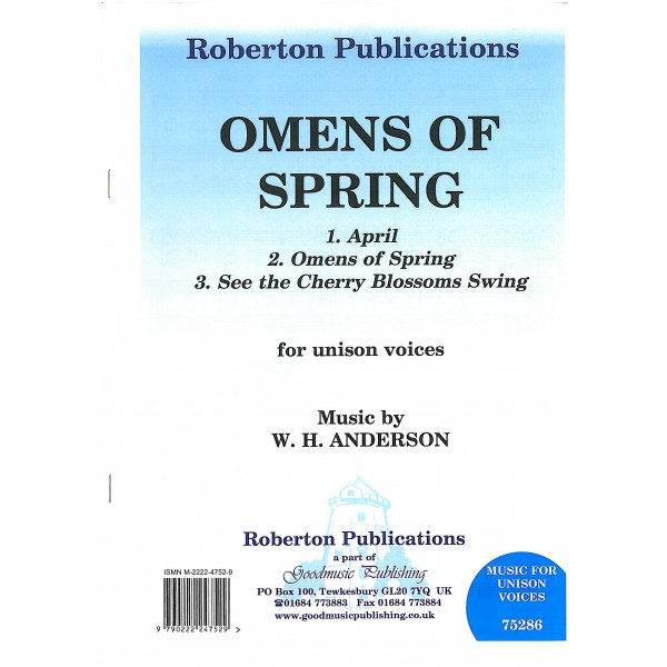 Anderson, W H - Omens of Spring (collection)