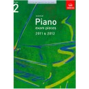 ABRSM Piano Exam Pieces 2011-2012 Grade 2 Book Only