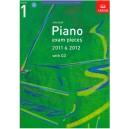 ABRSM Piano Exam Pieces 2011-2012 Grade 1 Book with CD