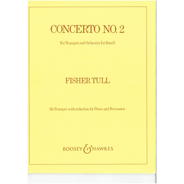 Tull, Fisher - Trumpet Concerto No. 2