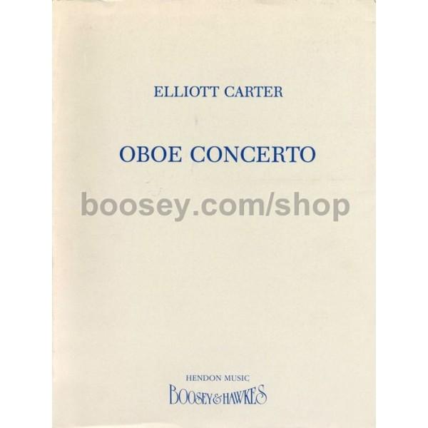 Carter, Elliott - Oboe Concerto