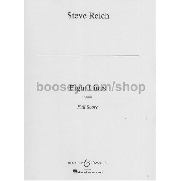 Reich, Steve - Eight Lines
