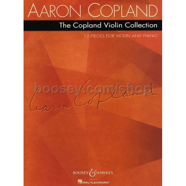 Copland, Aaron - The Copland Violin Collection