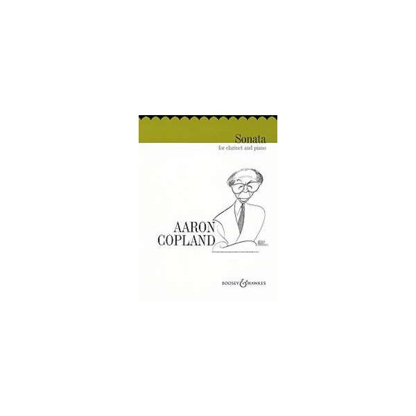 Copland, Aaron - Clarinet Sonata