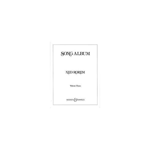 Rorem, Ned - Song Album   Vol. 3
