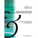 Bond, Capel - Bassoon Concerto No. 6