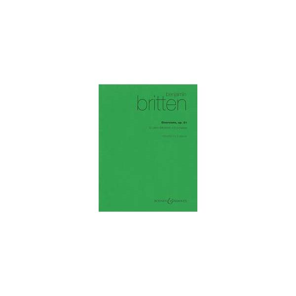 Britten, Benjamin - Diversions op. 21