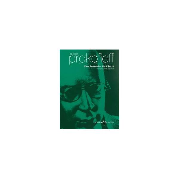 Prokofieff, Serge - Piano Concerto No. 2 in G minor op. 16