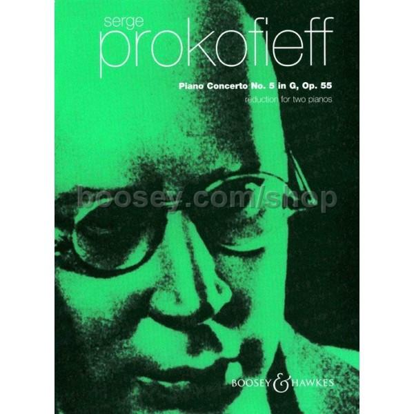 Prokofieff, Serge - Piano Concerto No. 5 in G major op. 55