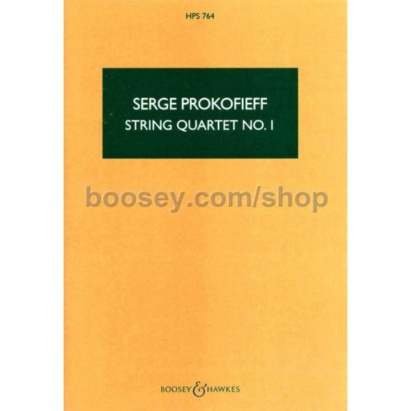Prokofieff, Serge - String Quartet No. 1 op. 50