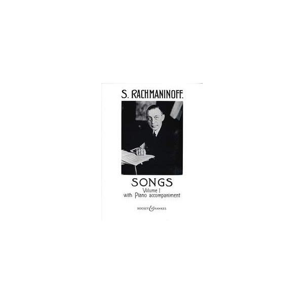 Rachmaninoff, Sergei Wassiljewitsch - Songs   Vol. 1
