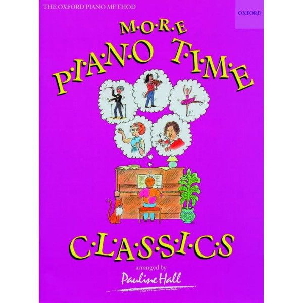 More Piano Time Classics - Hall, Pauline