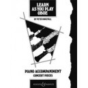 Learn As You Play Oboe - Concert Pieces (piano accompaniment)