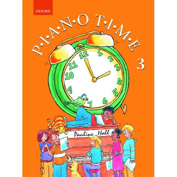 Piano Time 3 - Hall, Pauline