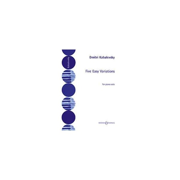 Kabalevsky, Dmitry - Five Easy Variations op. 51