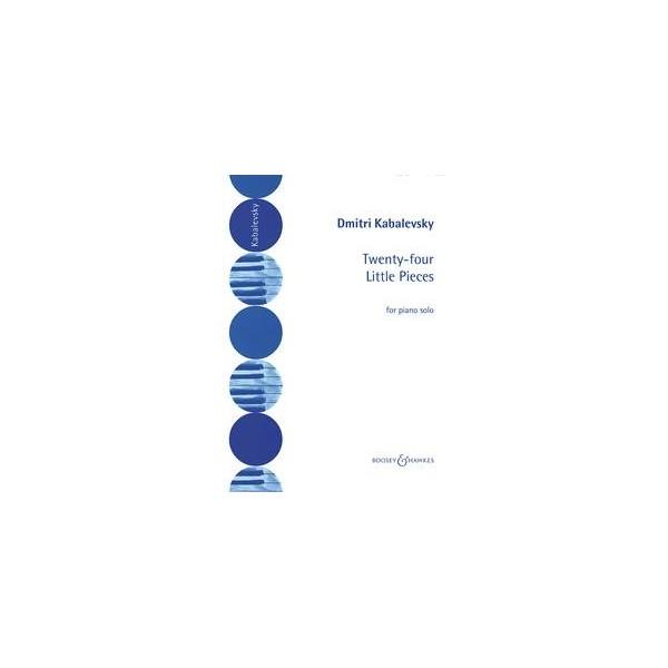 Kabalevsky, Dmitry - 24 Little Pieces op.39