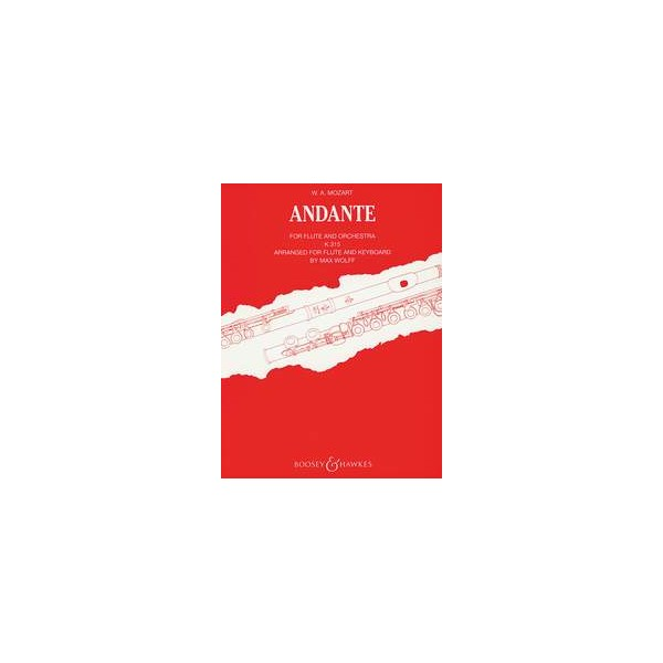 Mozart, Wolfgang Amadeus - Andante in C Major  KV 315