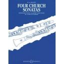 Mozart, Wolfgang Amadeus - Four Church Sonatas KV 67, 68, 244, 336