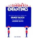 Bloch, Ernest - Enfantines