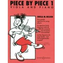 Piece By Piece   Vol. 1 - Easy graded repertoire for young players