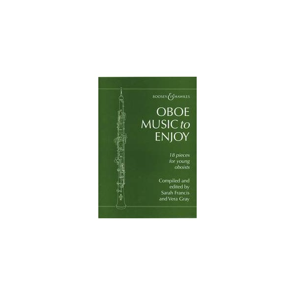 Oboe Music To Enjoy - 18 pieces for young oboeists