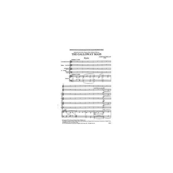 MacMillan, James - The Galloway Mass