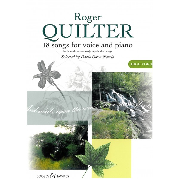 Quilter, Roger - 18 Songs for High Voice