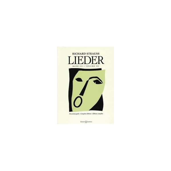 Strauss, Richard - Lieder   Band 3
