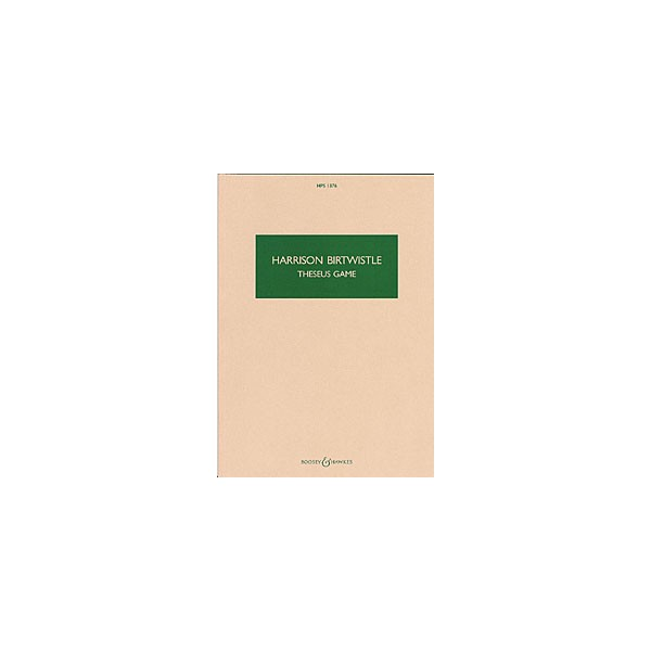 Birtwistle, Sir Harrison - Theseus Game