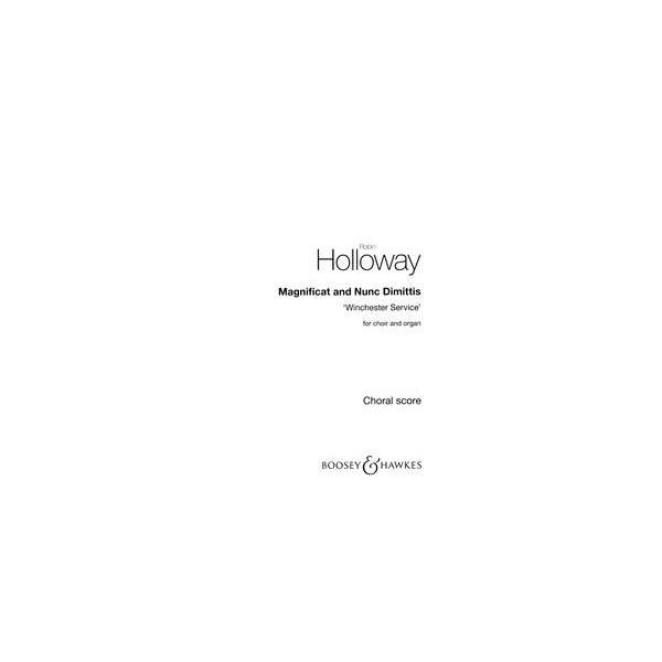 Holloway, Robin - Magnificat and Nunc Dimittis