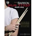 Barron, Christine - Drum Styles Made Easy
