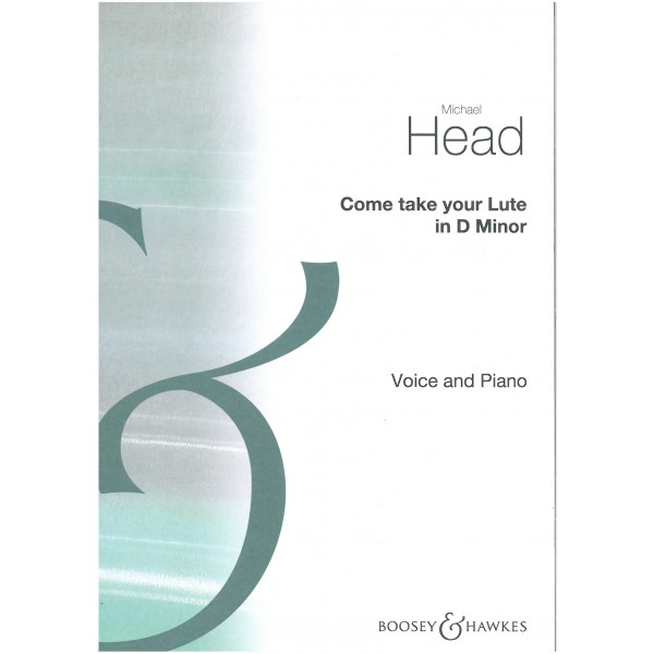 Head, Michael - Come Take Your Lute (D minor)