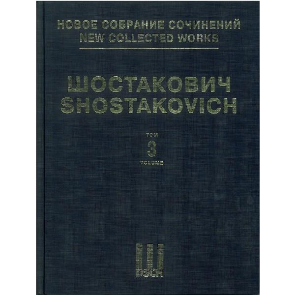 Shostakovich, Dmitri - Symphony No. 3 & Unfinished Symphony (1934) op. 20, o. op.