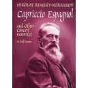 Rimsky-Korsakov: Capriccio Espagnol and other Concert Favorites in Full Score - Rimsky-Korsakov, Nikolay (Artist)