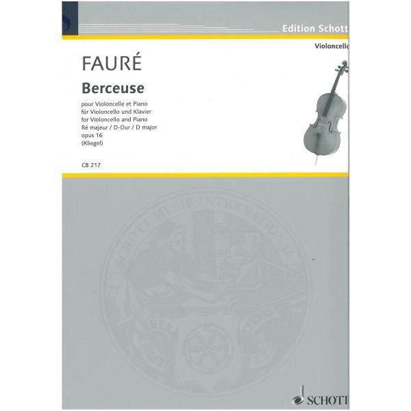 Faure, Gabriel - Berceuse D major op. 16