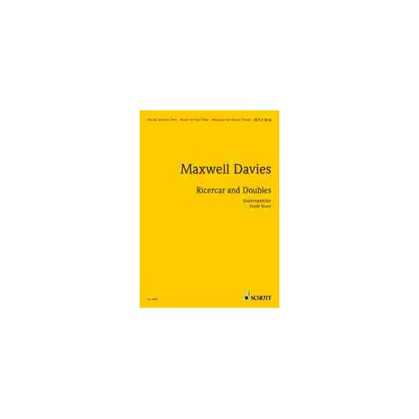 Maxwell Davies, Sir Peter - Ricercar and Doubles