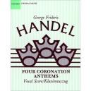 Four Coronation Anthems - Handel, George Frideric