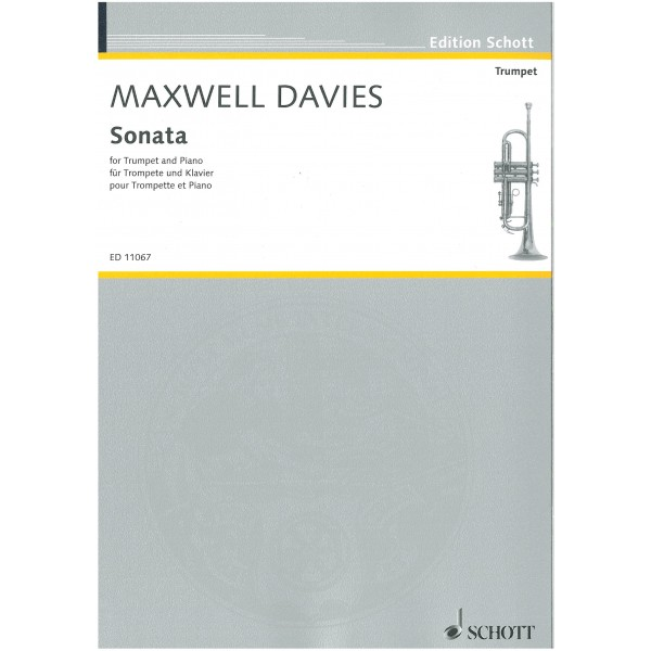 Maxwell Davies, Sir Peter - Sonata for Trumpet in D and Piano