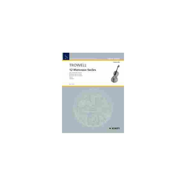 Trowell, Arnold - 12 Morceaux faciles op. 4  Vol. 4