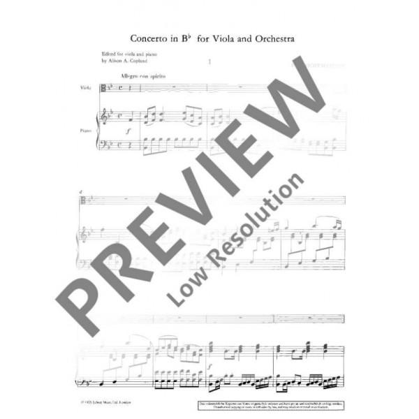 Hoffmeister, Franz Anton - Concerto B flat Major
