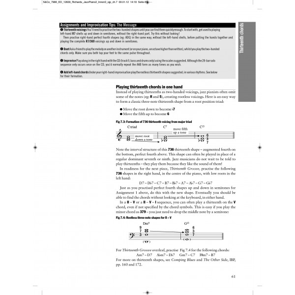 Richards, Tim - Exploring Jazz Piano, Vol. 2