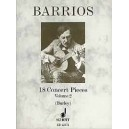 Barrios Mangore, Agustin - 18 Concert Pieces   Vol. 2