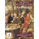 The Schott Recorder Consort Anthology Vol. 5 - German and Dutch Music