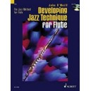 ONeill, John - The Jazz Method and Developing Jazz Technique for Flute   Vol. 1 & 2 in a Bundle