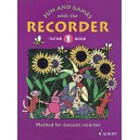 Engel, Gerhard / Linde, Hans-Martin / Huenteler, Konrad / Heyens, Gudrun - Fun and Games with the Recorder   Tutor Book 1