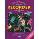 Engel, Gerhard / Linde, Hans-Martin / Huenteler, Konrad / Heyens, Gudrun - Fun and Games with the Recorder   Tune Book 1