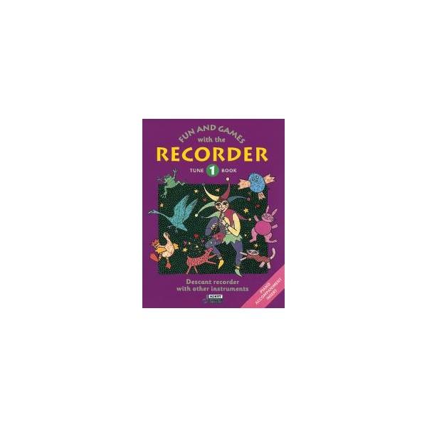 Engel, Gerhard / Linde, Hans-Martin / Huenteler, Konrad / Heyens, Gudrun - Fun and Games with the Recorder Tune Book 1