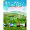 34 Well-Known Folk Songs - Folk Songs from England, Ireland, Scotland, Wales and the USA